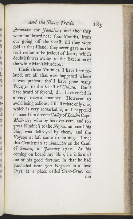 A New Account Of Some Parts Of Guinea & The Slave Trade -Page 185